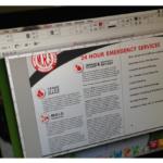 professional use of Adobe InDesign, Illustrator, Photoshop